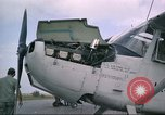 Image of O-1E Bird dog Da Nang Vietnam, 1966, second 39 stock footage video 65675061927