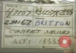 Image of Contract airlines Tan Son Nhut Vietnam, 1967, second 1 stock footage video 65675061937