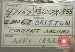 Image of Contract airlines Tan Son Nhut Vietnam, 1967, second 2 stock footage video 65675061937