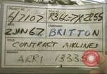 Image of Contract airlines Tan Son Nhut Vietnam, 1967, second 5 stock footage video 65675061937