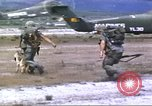 Image of scout dogs Vietnam, 1966, second 12 stock footage video 65675062005