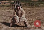 Image of sentry dogs South Vietnam, 1967, second 58 stock footage video 65675062006