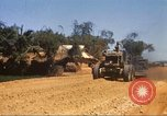 Image of construction of highway Vietnam, 1969, second 19 stock footage video 65675062015