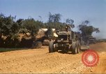 Image of construction of highway Vietnam, 1969, second 20 stock footage video 65675062015