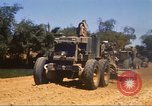Image of construction of highway Vietnam, 1969, second 22 stock footage video 65675062015