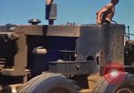 Image of construction of highway Vietnam, 1969, second 24 stock footage video 65675062015