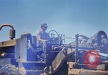 Image of construction of highway Vietnam, 1969, second 27 stock footage video 65675062015