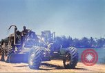 Image of construction of highway Vietnam, 1969, second 32 stock footage video 65675062015