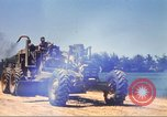 Image of construction of highway Vietnam, 1969, second 33 stock footage video 65675062015