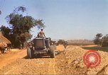 Image of construction of highway Vietnam, 1969, second 47 stock footage video 65675062015