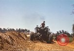 Image of construction of highway Vietnam, 1969, second 51 stock footage video 65675062015