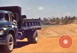 Image of construction of highway Vietnam, 1969, second 20 stock footage video 65675062016