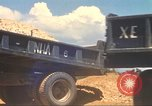 Image of construction of highway Vietnam, 1969, second 34 stock footage video 65675062016