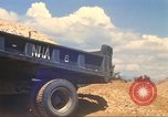Image of construction of highway Vietnam, 1969, second 35 stock footage video 65675062016