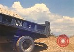 Image of construction of highway Vietnam, 1969, second 36 stock footage video 65675062016