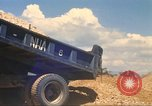 Image of construction of highway Vietnam, 1969, second 38 stock footage video 65675062016