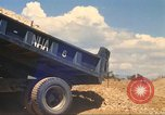 Image of construction of highway Vietnam, 1969, second 39 stock footage video 65675062016