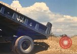 Image of construction of highway Vietnam, 1969, second 40 stock footage video 65675062016