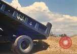 Image of construction of highway Vietnam, 1969, second 41 stock footage video 65675062016