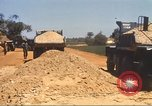 Image of construction of highway Vietnam, 1969, second 56 stock footage video 65675062016