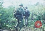 Image of United States soldiers of 4th Infantry Division South Vietnam, 1967, second 22 stock footage video 65675062025