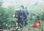 Image of United States soldiers of 4th Infantry Division South Vietnam, 1967, second 25 stock footage video 65675062025