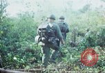 Image of United States soldiers of 4th Infantry Division South Vietnam, 1967, second 26 stock footage video 65675062025