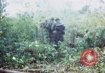 Image of United States soldiers of 4th Infantry Division South Vietnam, 1967, second 32 stock footage video 65675062025