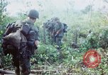 Image of United States soldiers of 4th Infantry Division South Vietnam, 1967, second 34 stock footage video 65675062025