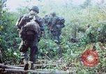 Image of United States soldiers of 4th Infantry Division South Vietnam, 1967, second 36 stock footage video 65675062025