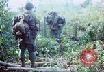 Image of United States soldiers of 4th Infantry Division South Vietnam, 1967, second 38 stock footage video 65675062025