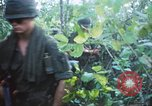 Image of United States soldiers of 4th Infantry Division South Vietnam, 1967, second 59 stock footage video 65675062025