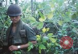 Image of United States soldiers of 4th Infantry Division South Vietnam, 1967, second 62 stock footage video 65675062025