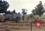 Image of 1st Infantry Division Lai Khe South Vietnam, 1968, second 48 stock footage video 65675062035