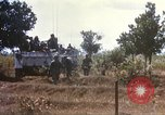 Image of 1st Infantry Division Lai Khe South Vietnam, 1968, second 49 stock footage video 65675062035