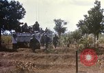 Image of 1st Infantry Division Lai Khe South Vietnam, 1968, second 50 stock footage video 65675062035