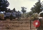 Image of 1st Infantry Division Lai Khe South Vietnam, 1968, second 51 stock footage video 65675062035