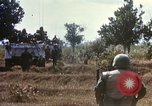 Image of 1st Infantry Division Lai Khe South Vietnam, 1968, second 52 stock footage video 65675062035