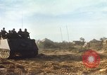 Image of 1st Infantry Division Lai Khe South Vietnam, 1968, second 54 stock footage video 65675062036