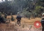Image of 1st Infantry Division Lai Khe South Vietnam, 1968, second 2 stock footage video 65675062038