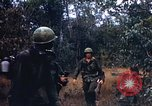 Image of 1st Infantry Division Lai Khe South Vietnam, 1968, second 8 stock footage video 65675062038
