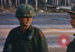 Image of 1st Infantry Division Lai Khe South Vietnam, 1968, second 22 stock footage video 65675062040