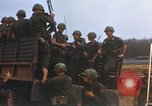 Image of 1st Infantry Division Lai Khe South Vietnam, 1968, second 39 stock footage video 65675062042