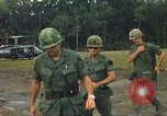 Image of United States officers Vietnam, 1970, second 18 stock footage video 65675062049