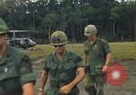 Image of United States officers Vietnam, 1970, second 19 stock footage video 65675062049