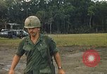 Image of United States officers Vietnam, 1970, second 21 stock footage video 65675062049
