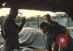 Image of United States officers Vietnam, 1970, second 24 stock footage video 65675062049