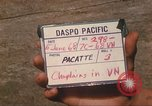 Image of Chaplain Angelo Liteky South Vietnam, 1968, second 2 stock footage video 65675062053