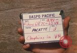 Image of Chaplain Angelo Liteky South Vietnam, 1968, second 3 stock footage video 65675062053