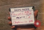 Image of Chaplain Angelo Liteky South Vietnam, 1968, second 4 stock footage video 65675062053